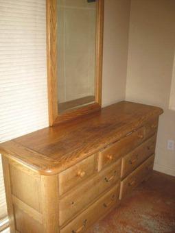 6-Piece Oak bedroom set